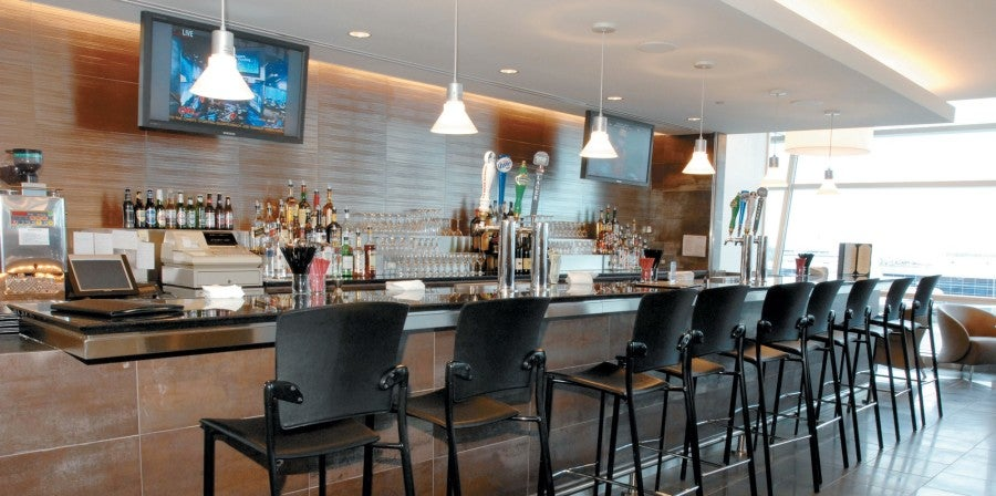 There are more than 50 Admirals Club lounges worldwide.
