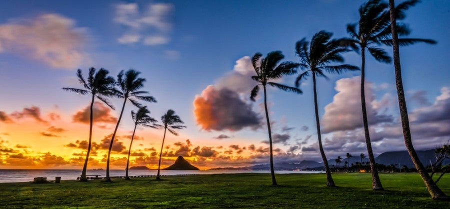 Hawaii sunset beach featured shutterstock 162636074