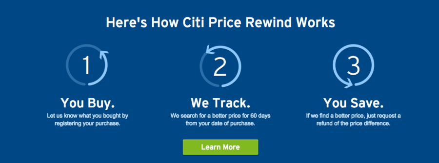 How Citi's Price Rewind Benefit Can Save You Big Bucks