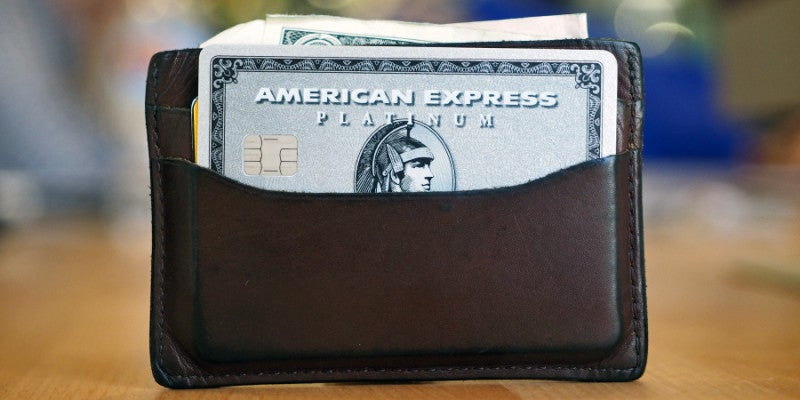 The American Express Platinum Card offers protection against damage and loss.