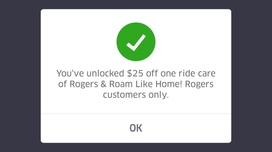 Uber Promo Code Tutorial Screenshot