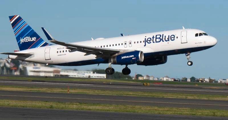 jetblue taking off
