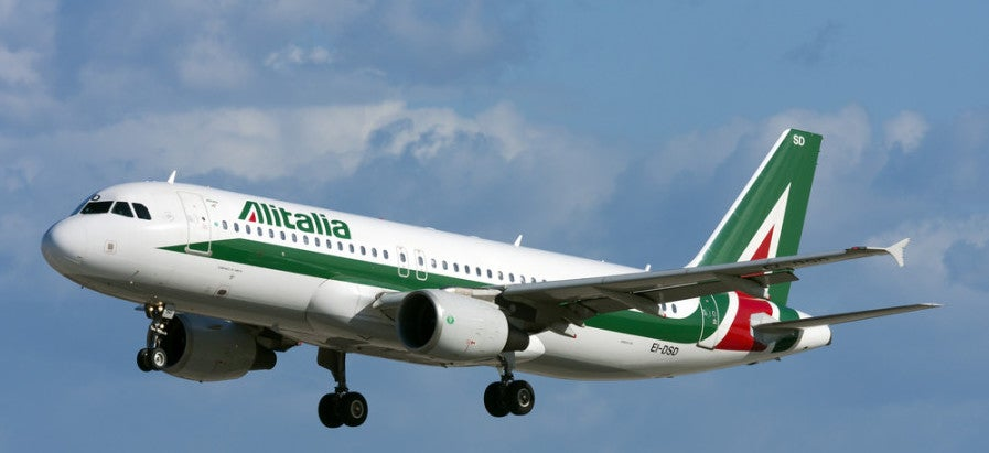 Buy Alitalia miles with a bonus. Photo courtesy of Shutterstock.