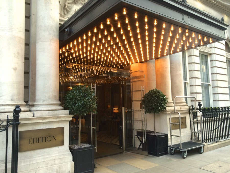 Hotel With Marquee Room London