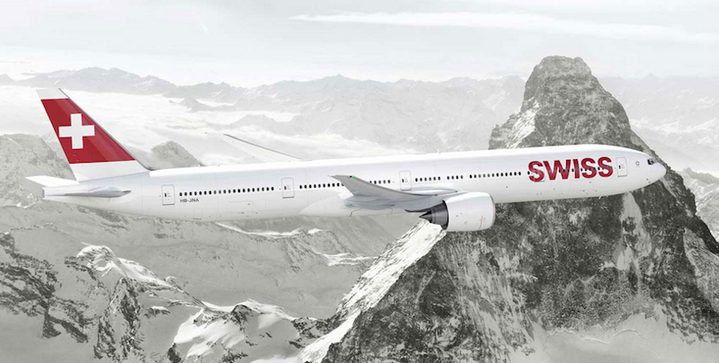 SWISS 777300 plane
