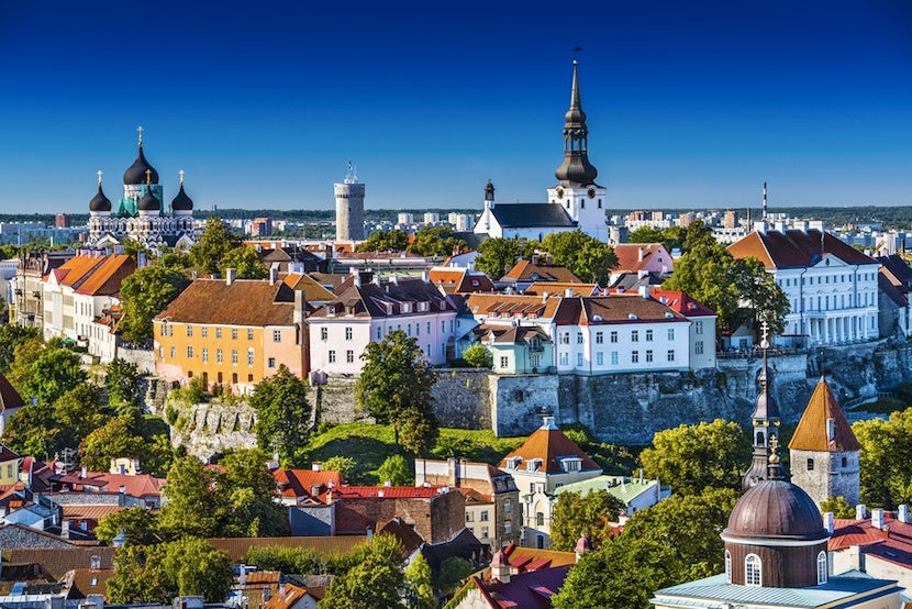 Tallinn is both a well-kept secret and a great party destination. Photo courtesy of Shutterstock.