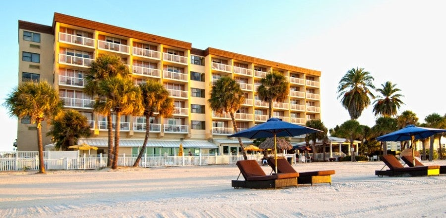 With the Wyndham Rewards Visa, you can earn points toward a stay at properties like the Wyndham Clearwater Beach,