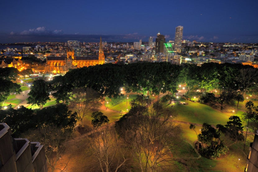 A photo I captured with my new wide-angle lens in Sydney. Zero buyer's remorse here.
