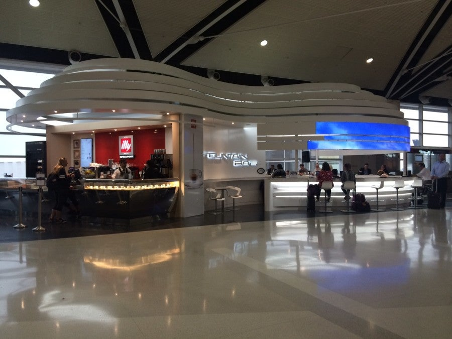 Illy Coffee Fountain Bar Is Among The Additions To Dtw S Mcnamara Terminal Food And Beverage Line Up Photo By Author Dining