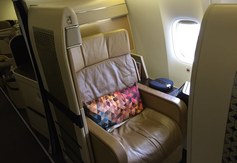 Etihad First Class Comparison Old Versus New