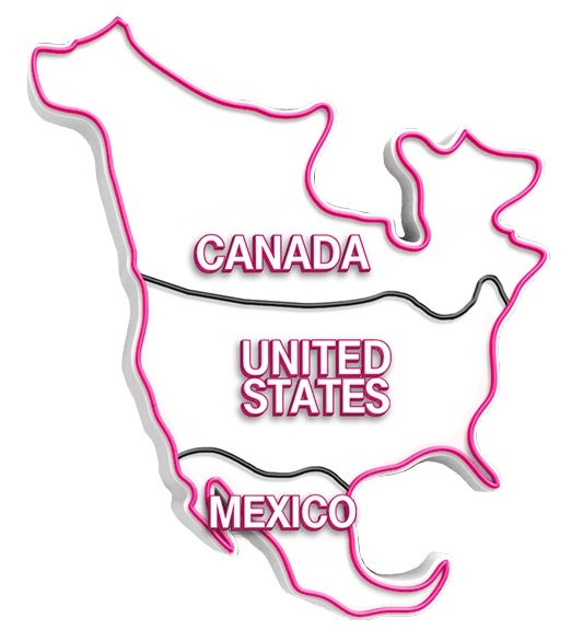 T mobile now includes unlimited roaming in canada and mexico business customers can also add coverage and calling across north america to their simple sciox Gallery