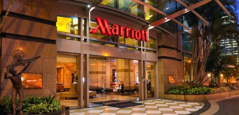 Marriott entrance