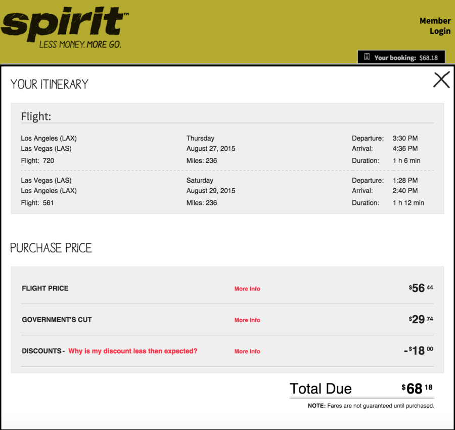 Spirit airlines voucher