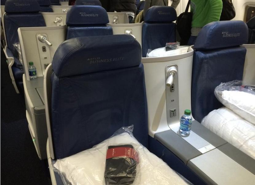 Delta 767 300er Business Class Cabin