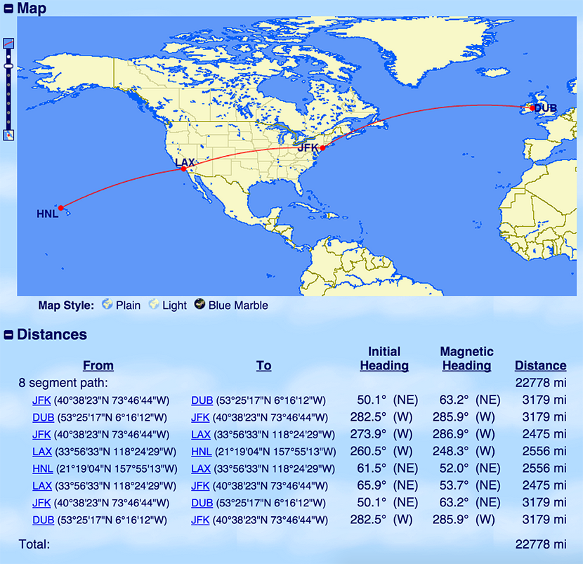 How I Earned 141,608 Miles From a Single Weekend of Flying