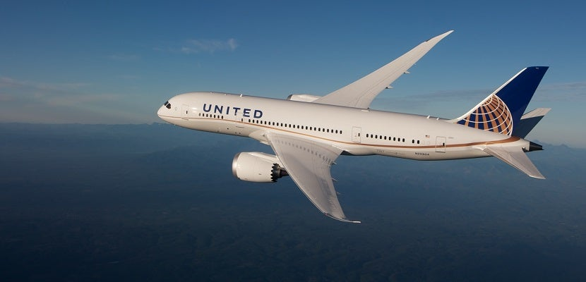 United 787 Dreamliner featured