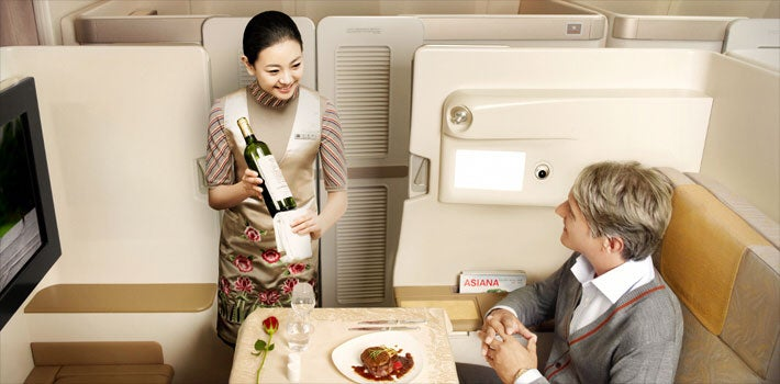 Asiana First Class | The Points Guy