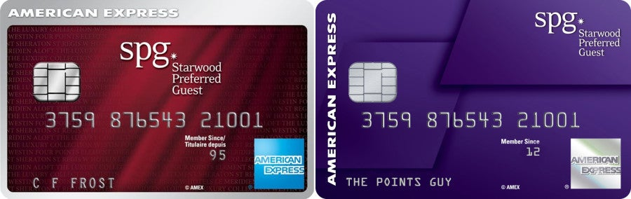 The American Express Starwood Preferred Guest Card Is Getting A Brand New Look