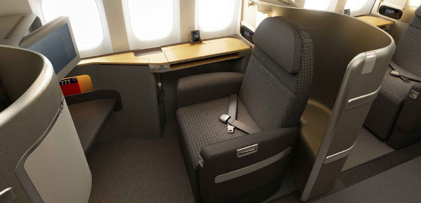 American Airlines Domestic First Class