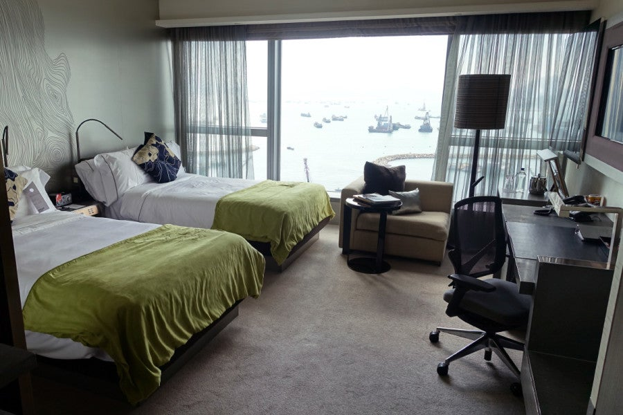 Our Wonderful Room With Two Double Beds