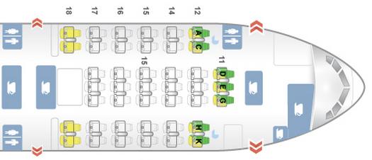 Review Cathay Pacific 777 300 Business Hong Kong Bali