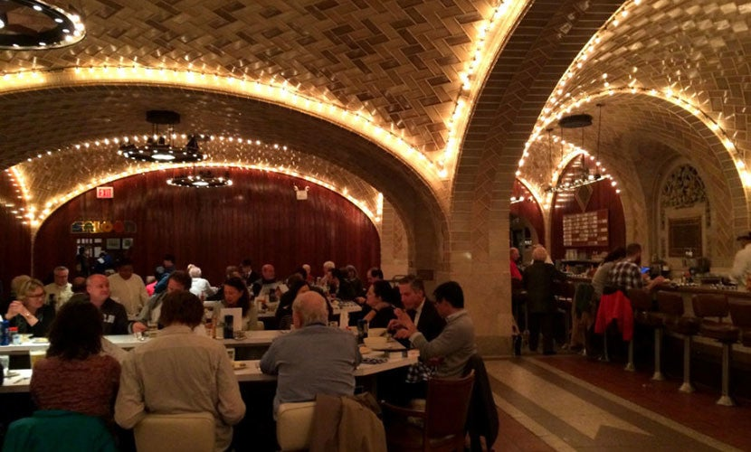 The 440-seat Grand Central Oyster Bar.