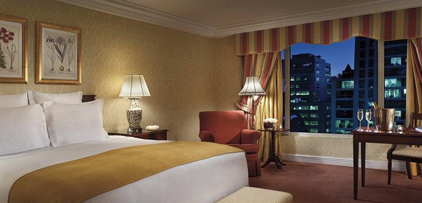A room in the Ritz-Carlton Santiago.