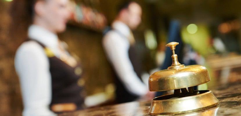 hotel reception desk shutterstock_189084500