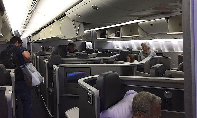 Review: American's New 777-200 Business Class - JFK to Rio