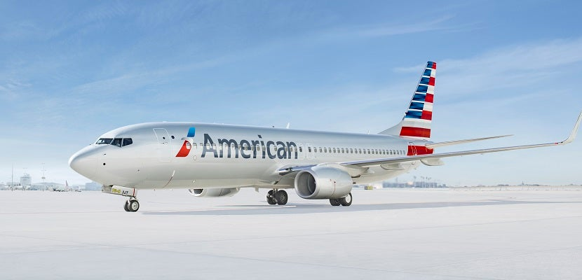 AA is another option for Australia-bound travelers.
