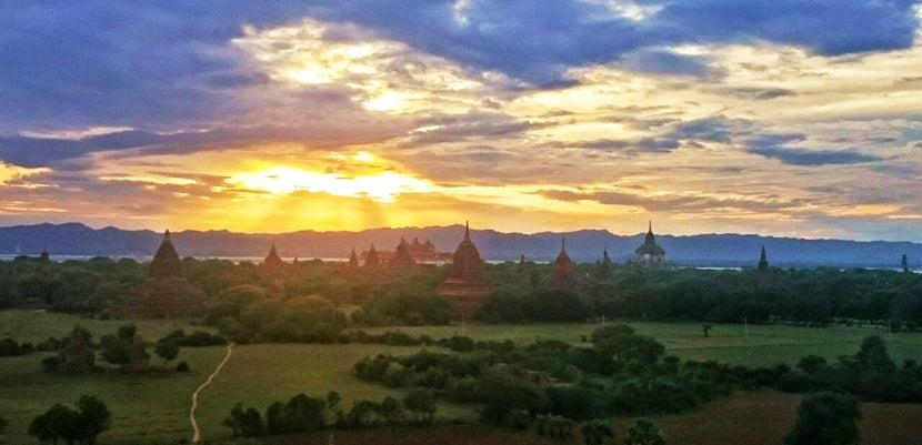 Bagan-Sunset
