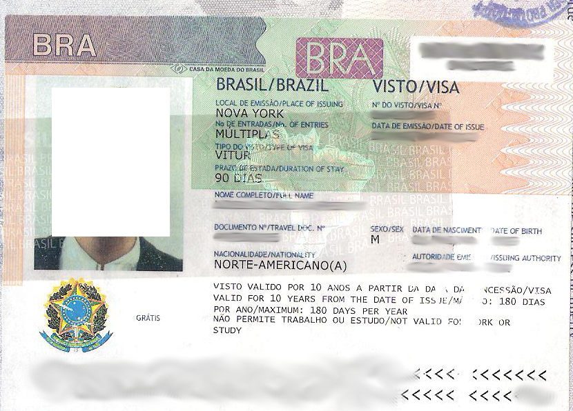 Forgetting this thing could ruin your trip before it starts not having a visa to brazil could leave you feeling left out of the frame stopboris Choice Image