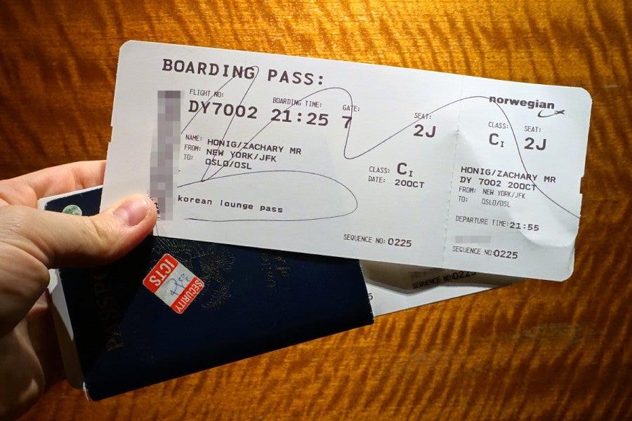 Review: Norwegian Air 787 Premium Class - New York to Oslo