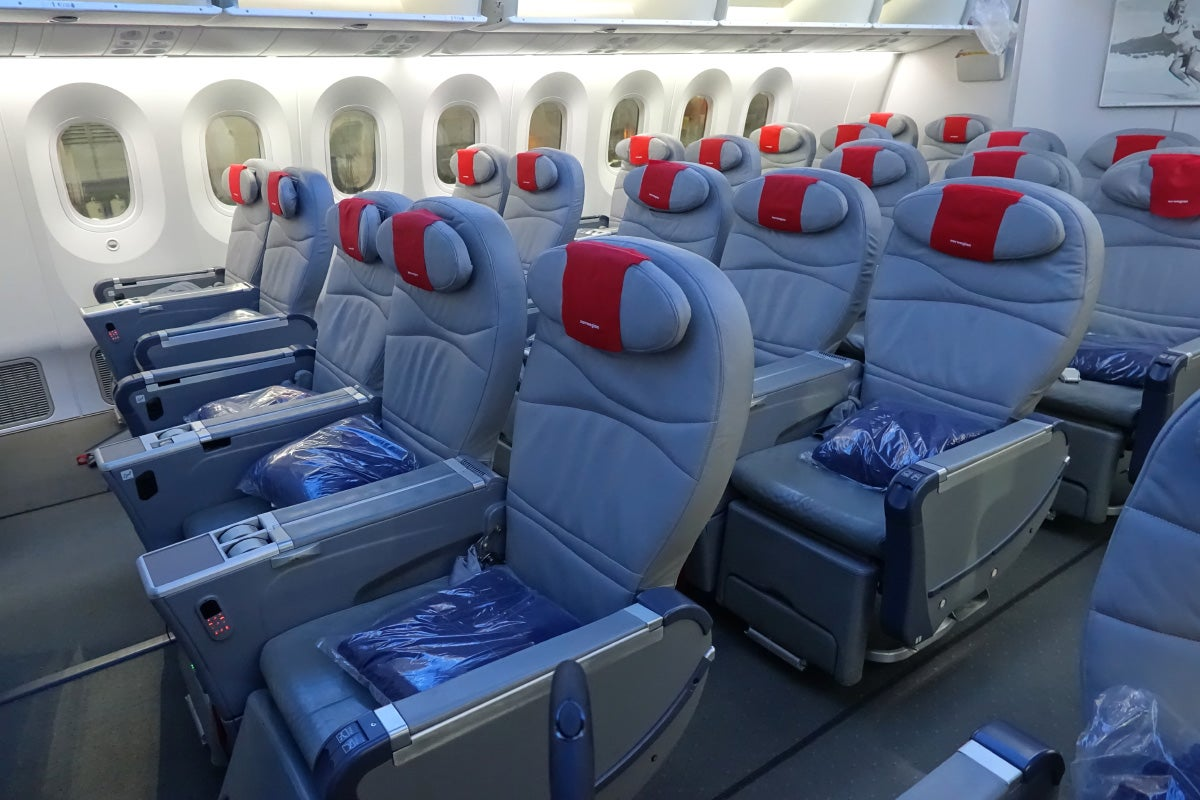 Great Premium Seats On Norwegian