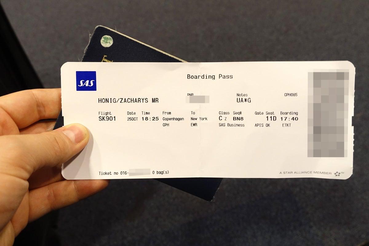 Sas All Business 737 700 Copenhagen To Newark Review