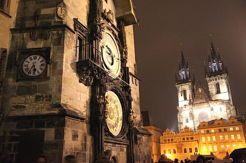 See the stars days at night at the Astronomical Clock, keeping time since 1410.