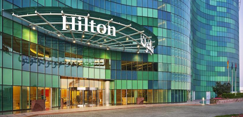 The Hilton Abu Dhabi.