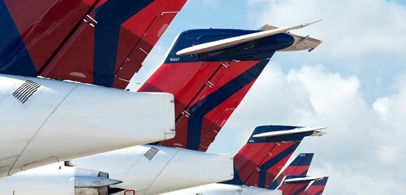 Delta's now number two in the US. Image courtesy of Shutterstock.