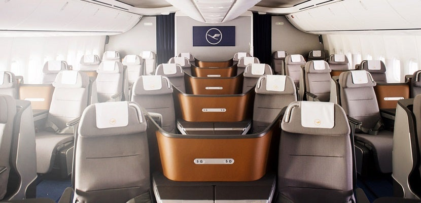 Lufthansa business class featured