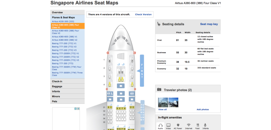 Review Singapore Airlines ER In Premium Economy - Japan airlines seat map 773