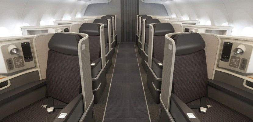 American Airlines A321T First Class Featured