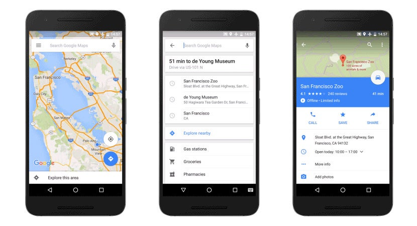 how to add state offline maps to google maps