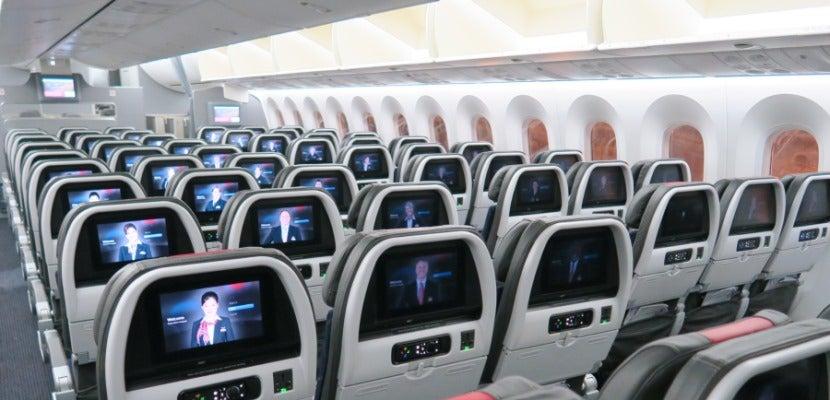 AA 787 Dreamliner interior