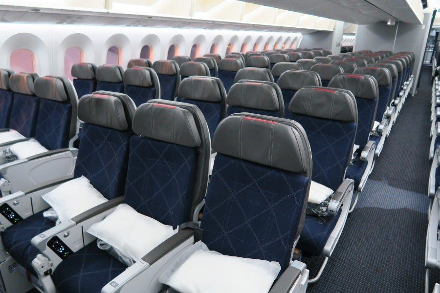 Flight Review Aa 787 In Main Cabin Extra Shanghai To Dallas