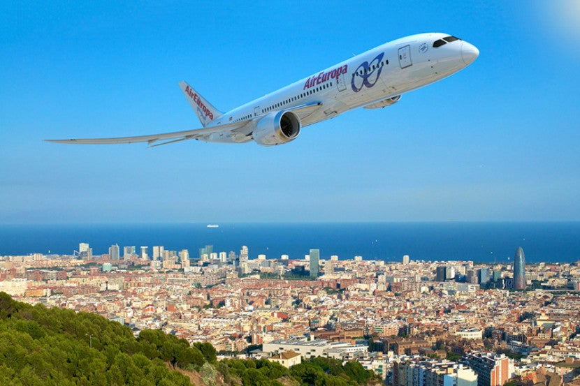 Air Europa has a new frequent-flyer program called SUMA. Image courtesy of Boeing.
