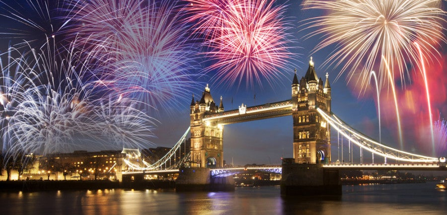 London Fireworks Featured