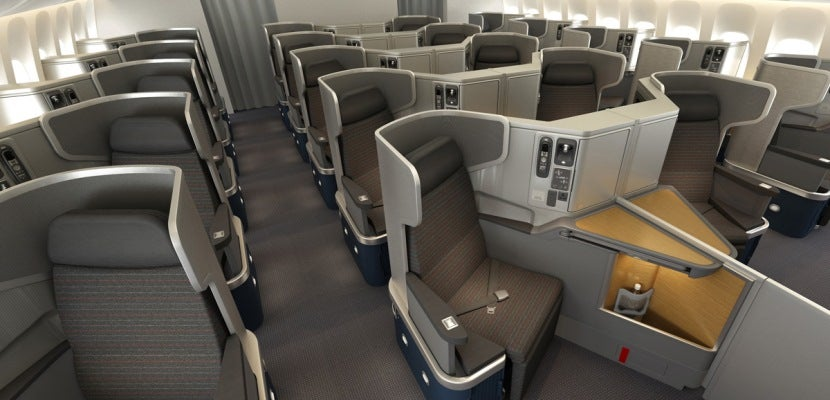 Those middle seats provide the right balance of privacy and togetherness.