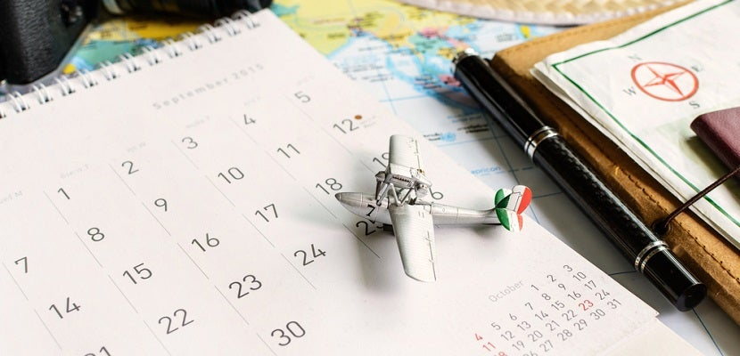 Calendar travel planner schedule featured shutterstock 287916683