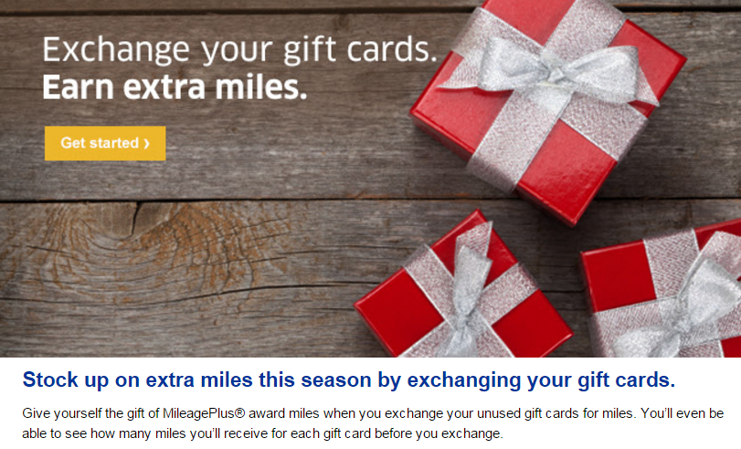 United Gift Card Exchange email