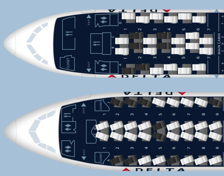 Delta S Now Flying A330s On Select Transcons